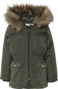 Winterparka NMFMARLIS  dunkelgrün Gr. 110 Mädchen Kleinkinder