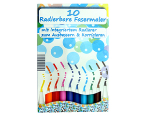 Radierbare Stifte