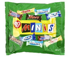 Mars/Twix/Bounty/Milky Way/Snickers Mixed Minis
