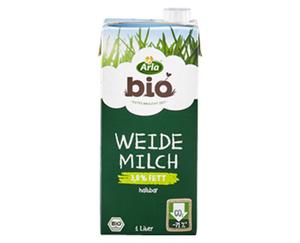 Arla®  Bio Haltbare Weidemilch
