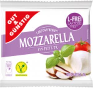 Gut & Günstig Mozzarella laktosefrei