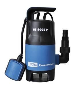 Schmutzwasser - Tauchpumpe GS 4002 P, 400 Watt Güde