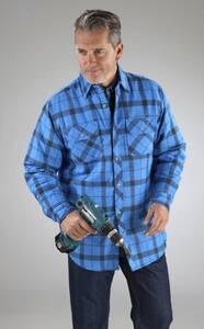Holzfäller Hemd Yukon, blau kariert
