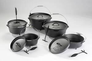 Dutch Oven Topf in verschiedenen Größen Fire Beam