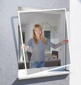 Schellenberg Insektenschutz Fenster ACTION ,  100 x 120 cm, weiß
