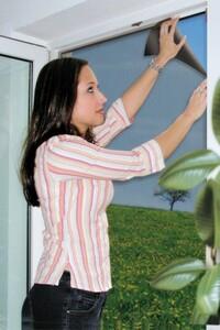 Schellenberg Insektenschutz Gitter Minirolle ,  100 x 130 cm, anthrazit