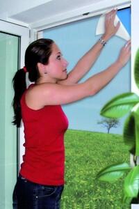 Schellenberg Insektenschutz Gitter ,  150 x 180 cm, weiß