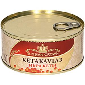 Keta-Lachskaviar (Oncorhynchus keta)