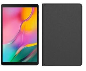 Samsung Tablet Tab A 10.1 inkl. Book Cover ,  25,53 cm (10,1 Zoll), 64 GB, WiFi, schwarz