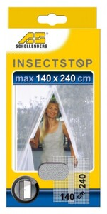 Schellenberg Insektenschutz Lamellen 140 x 240 cm, weiß