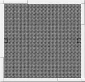 Schellenberg Insektenschutz Fenster TELESCOPE 80 x 85 cm bis 140 x 150 cm, weiß