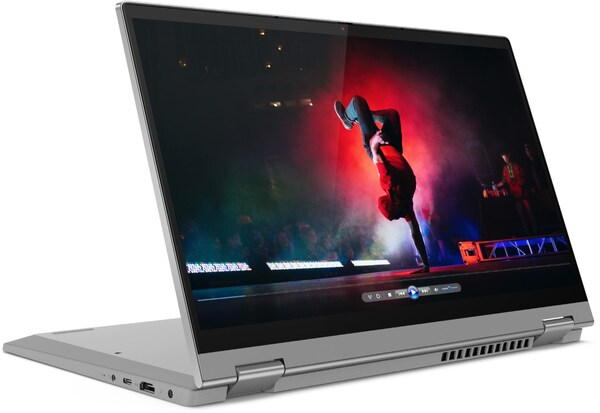 "IdeaPad Flex 5 (81X100FGGE) 35,6 cm (14"") 2 in 1 Convertible-Notebook platinum grey"