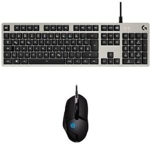 G413 (DE) Gaming Tastatur silber + G402 Hyperion Fury FPS Bundle für Dota 2