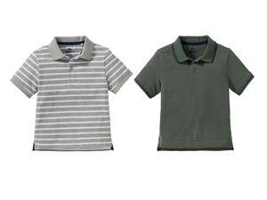 PEPPERTS® Poloshirts Jungen, 2 Stück, hoher Baumwollanteil, Trocknergeeignet