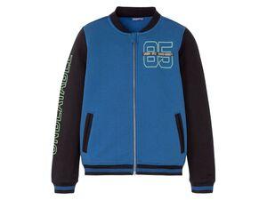 PEPPERTS® Kinder College-Jacke Jungen, 2 Eingrifftaschen vorn, weiche Sweat-Qualität