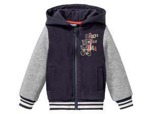 LUPILU® Kleinkinder College-Jacke Jungen, mit 2 Eingrifftaschen vorn, mit Baumwolle