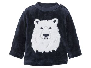LUPILU® Baby Jungen Teddypullover -/ jacke