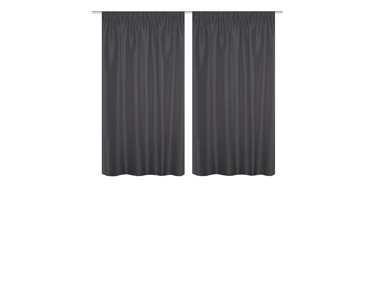 Bild 2 von Home Wohnideen Thermovorhang »Uni«, 2er-Pack, blickdicht, mit Thermostoffen