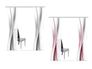 Home Wohnideen Schiebevorhang »Rochelle«, Wellenmotiv, 3er-, 4er-, 5er- & 6er-Set