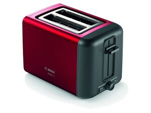 BOSCH Kompakt Toaster, DesignLine, Rot
