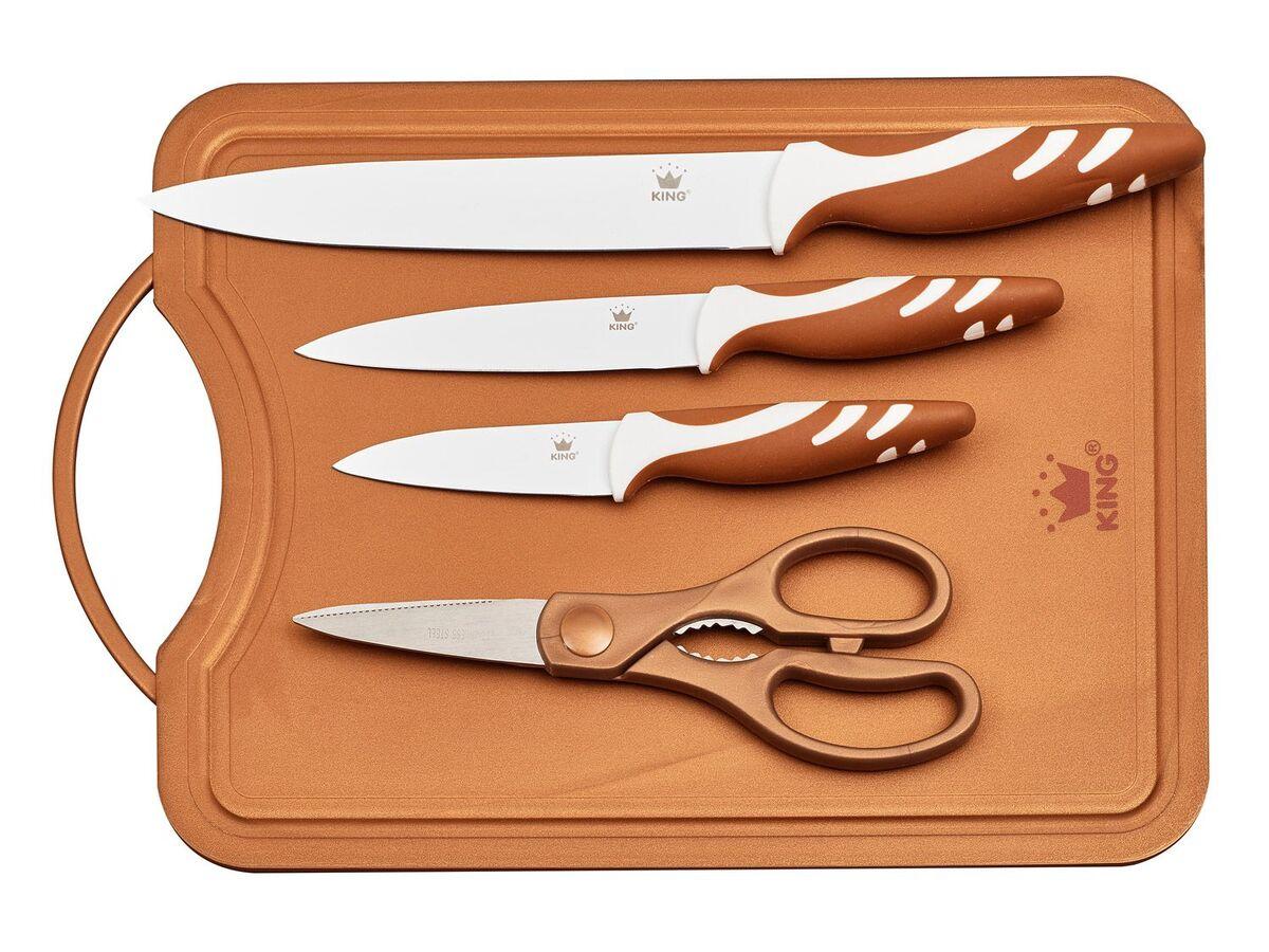 Bild 3 von KING Messerset mit Schneidebrett 5-teilig