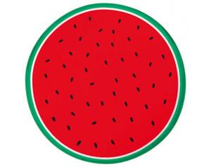 Strandtuch EASYmaxx XL Wassermelone rot/grün Ø 150 cm