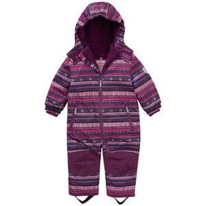 Baby Schneeoverall mit Norweger-Muster