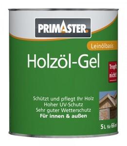 Primaster Holzöl-Gel SF924 5 l, nussbaum