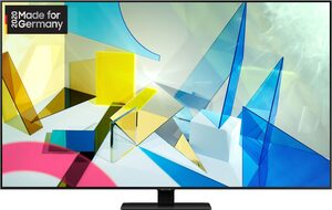 Samsung GQ75Q80T QLED-Fernseher (189 cm/75 Zoll, 4K Ultra HD, Smart-TV)