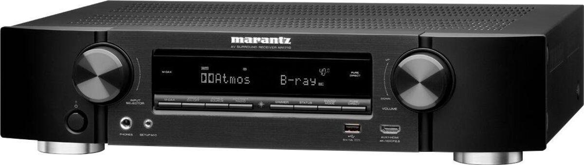 Bild 1 von Marantz »NR1710« 7.1 AV-Receiver (WLAN, LAN (Ethernet), Bluetooth)