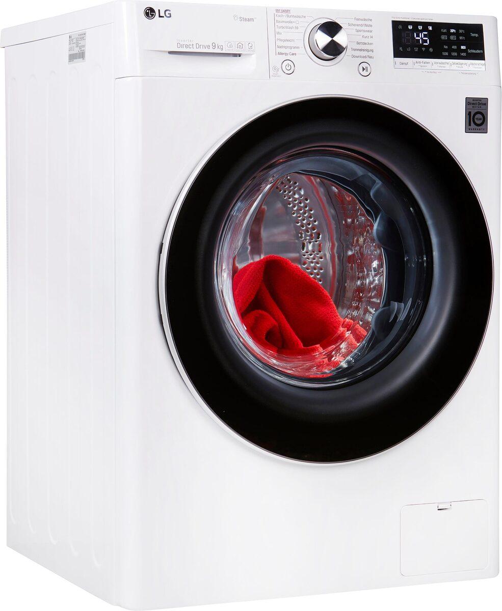 Bild 1 von LG Waschmaschine Serie 7 F4WV709P1, 9 kg, 1400 U/Min