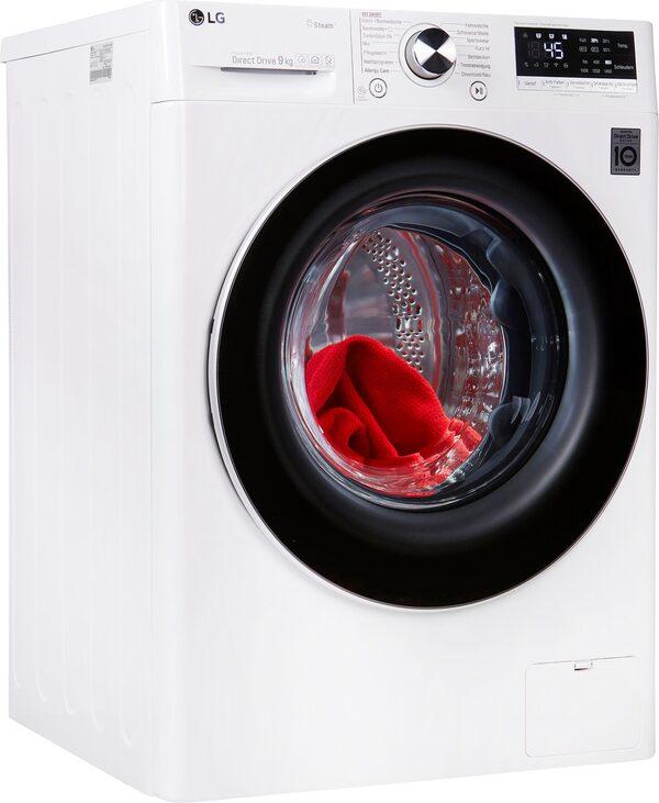 LG Waschmaschine Serie 7 F4WV709P1, 9 kg, 1400 U/Min