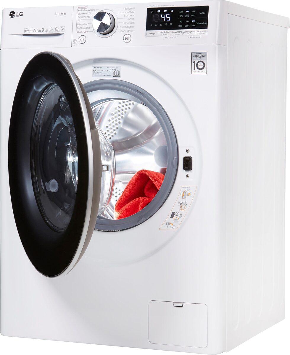 Bild 2 von LG Waschmaschine Serie 7 F4WV709P1, 9 kg, 1400 U/Min