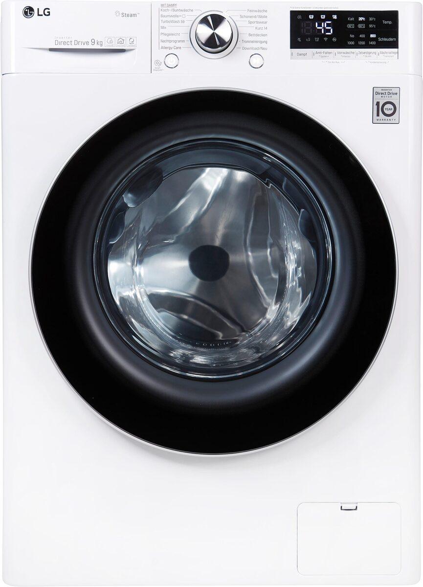 Bild 3 von LG Waschmaschine Serie 7 F4WV709P1, 9 kg, 1400 U/Min