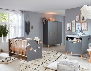trendteam Babyzimmer-Set Mats 3tlg.