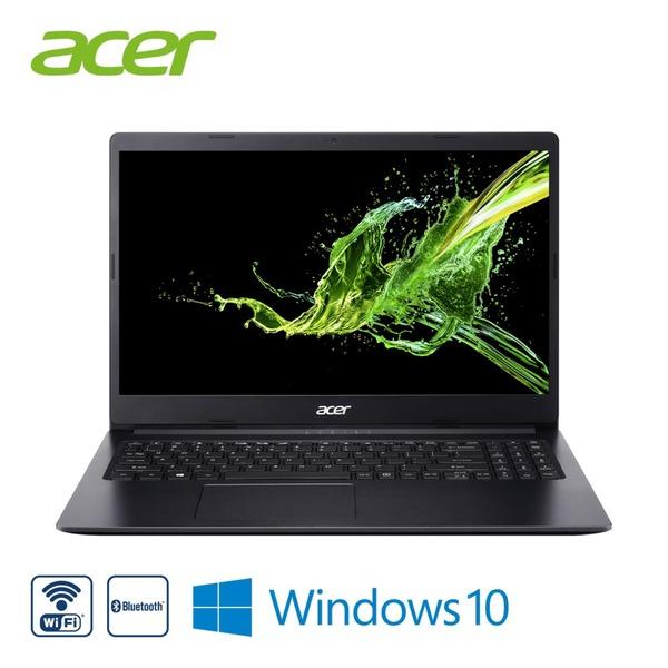"Notebook Aspire 3 A315-34-C364 · HD-Display (matt) · Intel® Celeron® N4000 (bis zu 2,6 GHz) · Intel® UHD Graphics 600 · USB 3.0, USB 2.0, HDMI, RJ-45, Bildschirmdiagonale: 15,6""/39,6 cm"