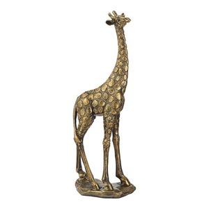 Deko-Giraffe mit Afrika-Thema, ca. 13x8x35cm