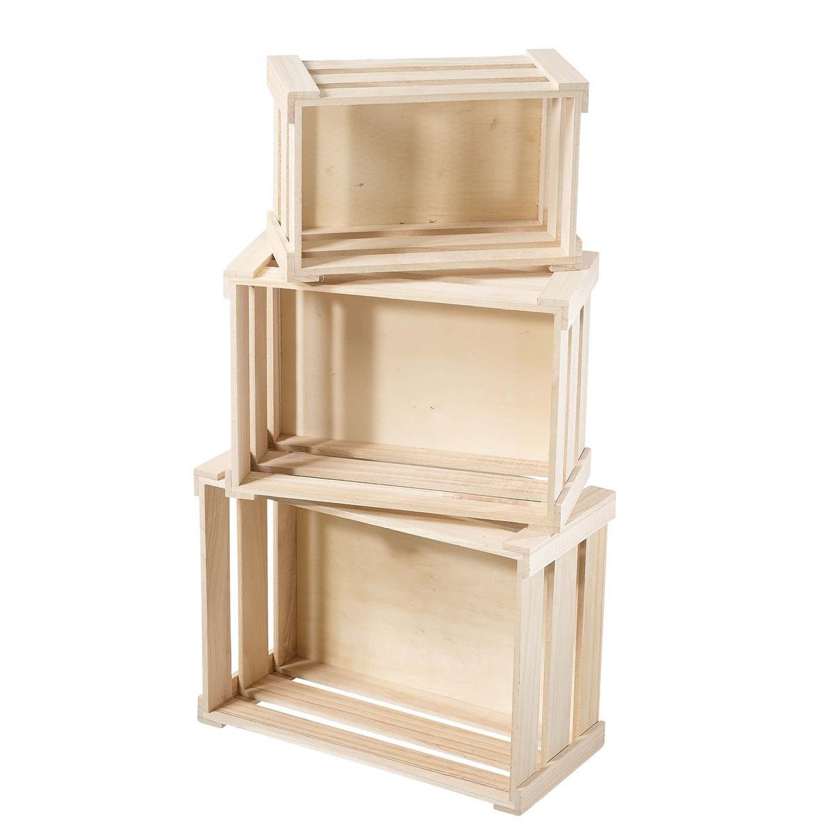 Bild 3 von Holzbox in verschiedenen Größen