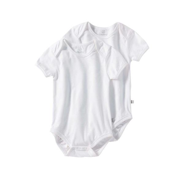 Baby Body 1/4 Arm 2er uni