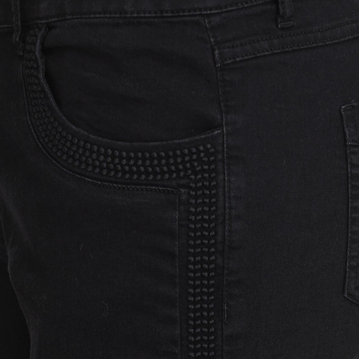 Bild 3 von Damen Slim-Jeans mit Galonstreifen