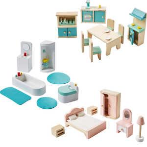 KIDLAND®  Puppenhaus-Möbel-Set