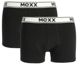 MEXX Herren Retroshorts, schwarz