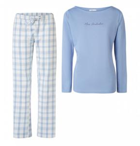 MEXX Damen Schlafanzug, hellblau