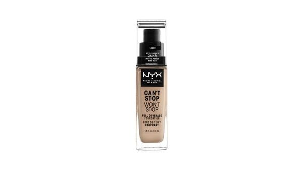 NYX PROFESSIONAL MAKEUP Make-up Can't Stop Won't Stop 24-Hour Full Coverage Foundation