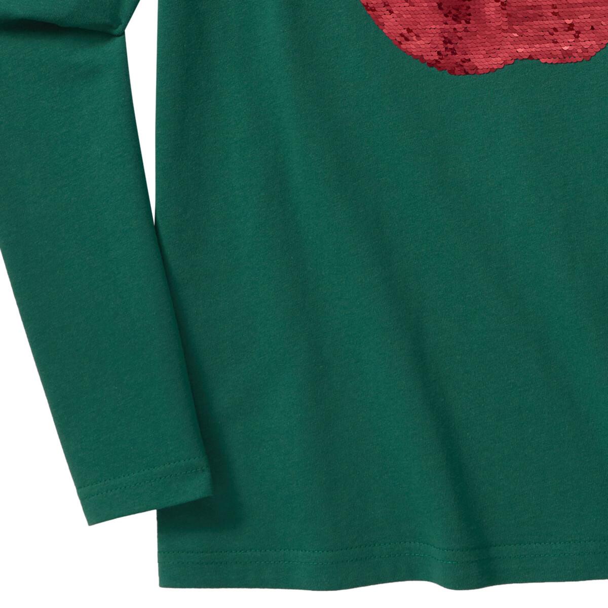 Bild 4 von Mädchen Langarmshirt mit Wendepailletten