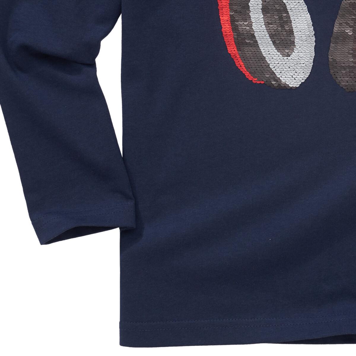 Bild 4 von Jungen Langarmshirt mit Wendepailletten