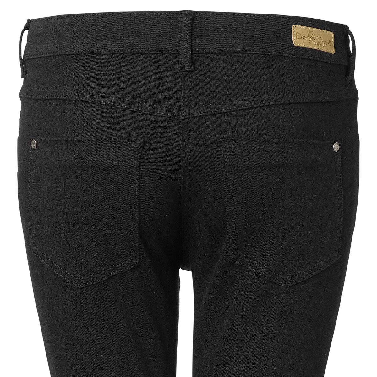 Bild 5 von Damen Slim-Jeans mit schmalem Bein