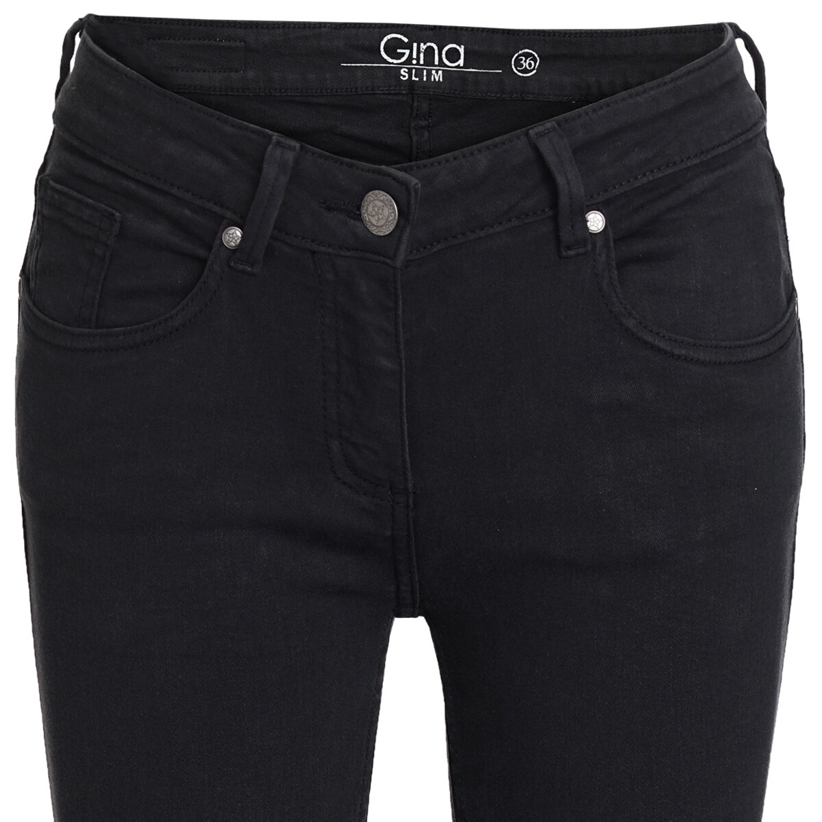 Bild 2 von Damen Slim-Jeans mit schmalem Bein