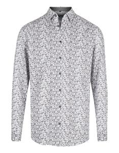 Bexleys man - Langarmhemd mit Punkteprint