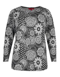 weiches Shirt mit Flowerprint